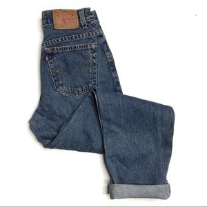 Levi's 550 Relaxed Fit Tapered leg Mom Jeans